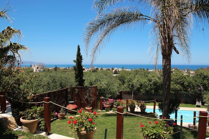 villa Palma, Pool, Lawns, Sea View