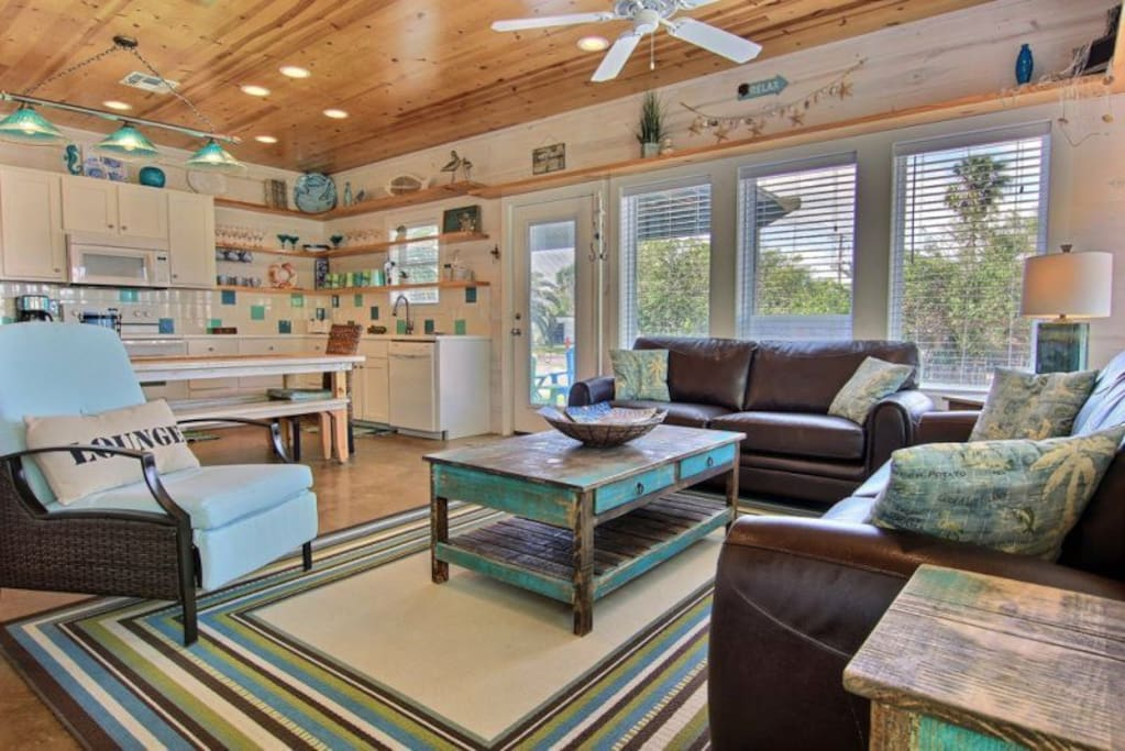 Family room with plenty of seating