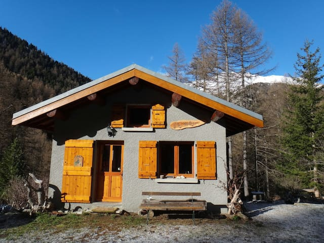 Chalet paisible en pleine montagne - Bramans - Talo