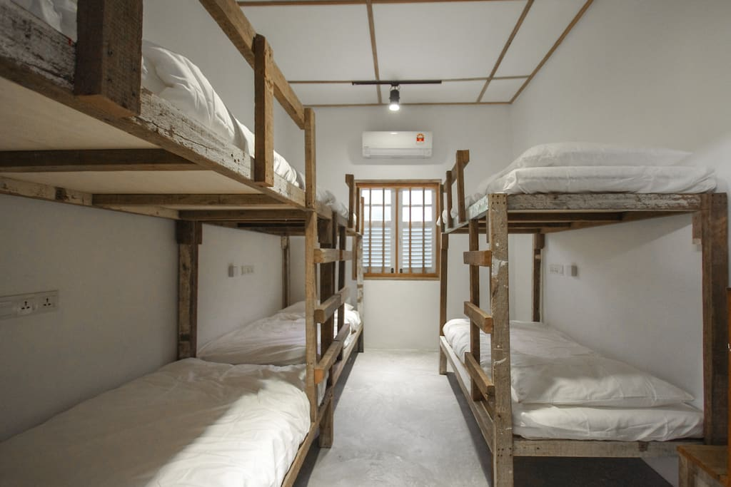 Mix-Dorm with 6 beds