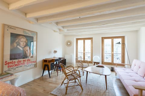 Cosy loft in Historical Paris 5th near Notre Dame