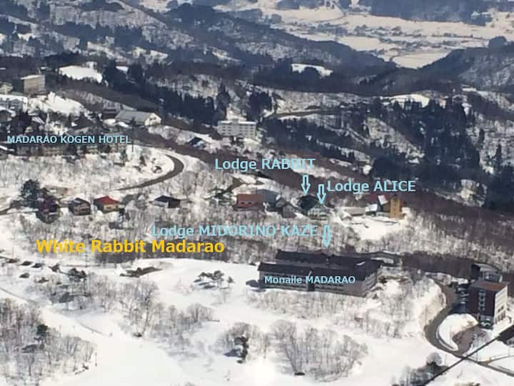 50-180 meters to MADARAO snow park