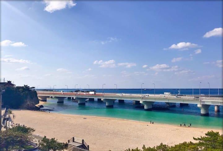 GALA HOTEL 全部屋オーシャンビュー(海景房) 国際通りまで10分(国际通步行10分)