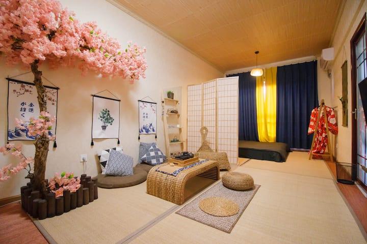 【Soft Home】春熙路/建设路/339日式樱花茶艺榻榻米