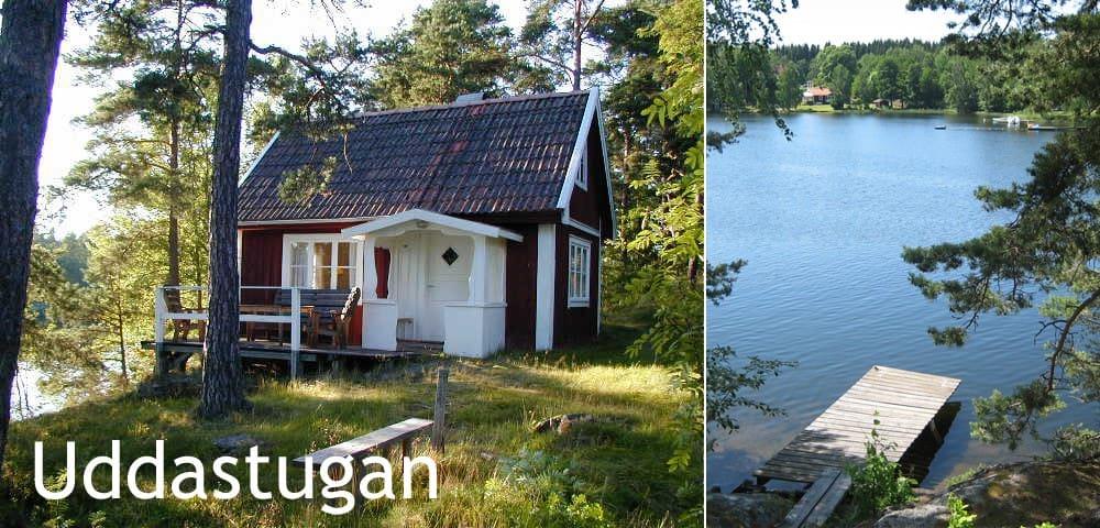 Sjöstuga vid Bunn nära Gränna - Gränna - กระท่อม