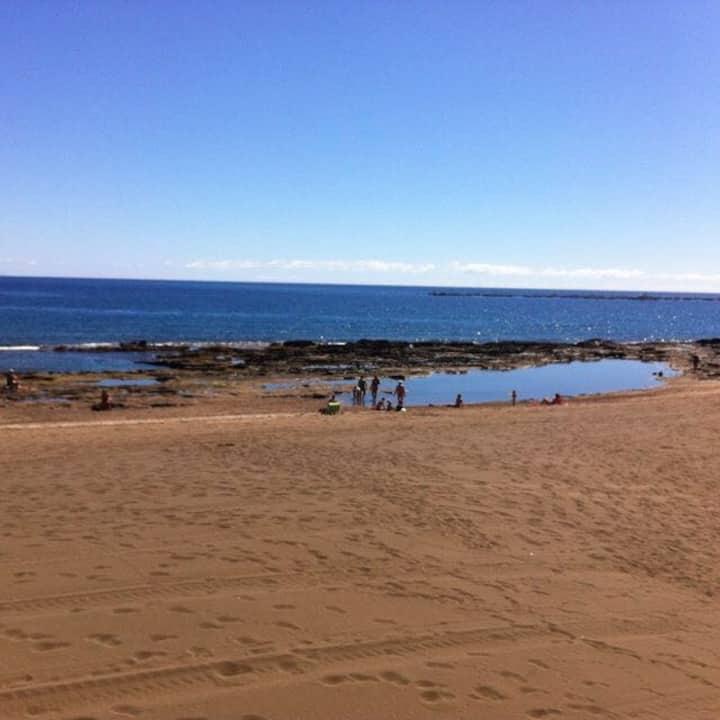 Lujoso ático en playa de Salinetas