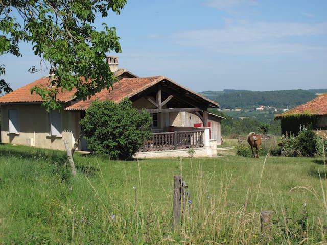 Gîte à la ferme avec vue panoramique