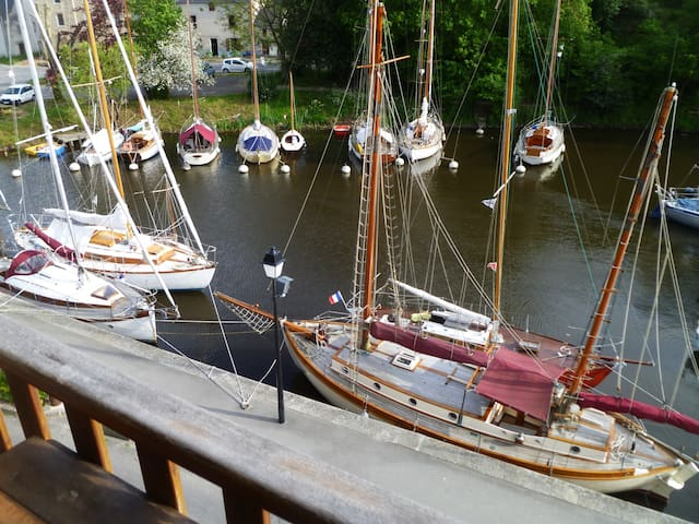 Charmant appartement vue sur Vieux Port (WIFI) - La Roche-Bernard - Daire