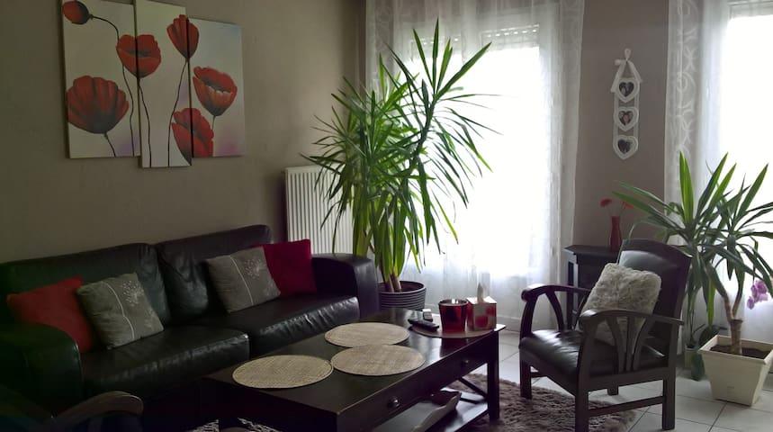 Maison/jardin calme proche centre de NANTES (5km) - Rezé - Hus