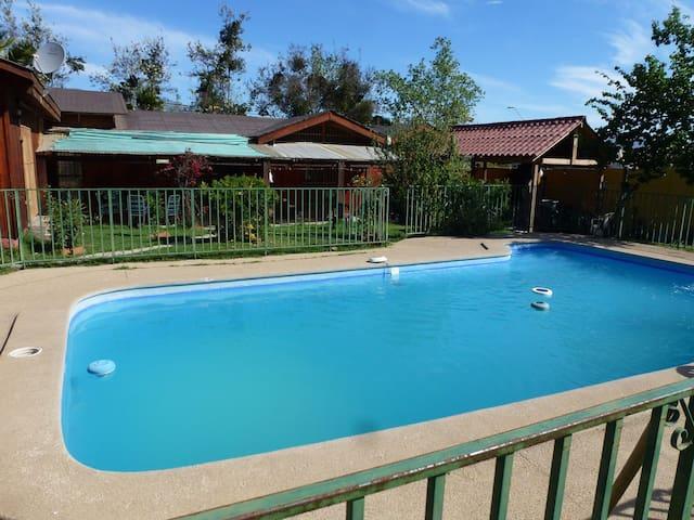 Preciosa casa con piscina en Olmué - Olmué  - Rumah