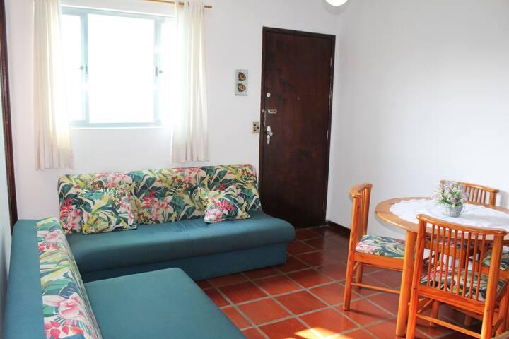 Apartamento na praia Indaiá - Centro de Caraguá