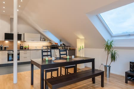 Beautiful loft in quiet area close to city center - München - Loft
