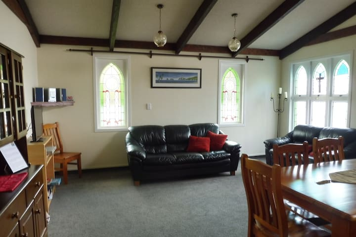 Our lounge - previously the Chapel