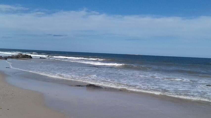 A 4 cuadras del mar
