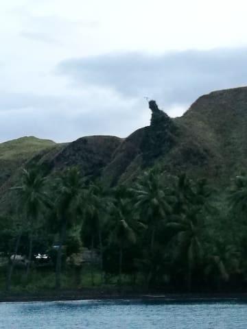 Legendary Marakwajiveta rock at Battle Bay