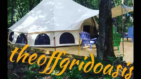 Brand New!!  The Off Grid Oasis   Tent #2