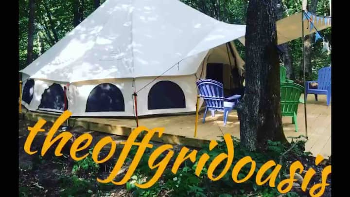 Brand new-The Off Grid Oasis   Tent #1
