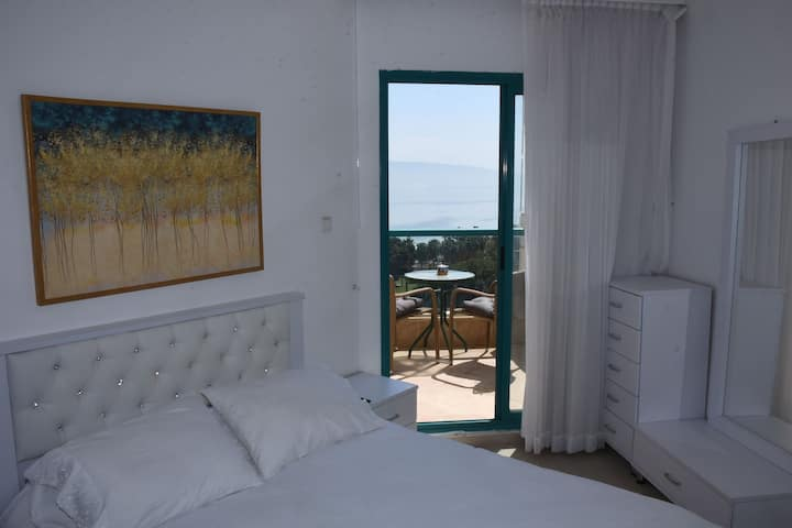 Viva Galilee-1 BedRoom+Living room+Balcony 2 Sea