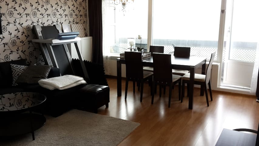 Modern apartment, amazing view, 10-15min from city