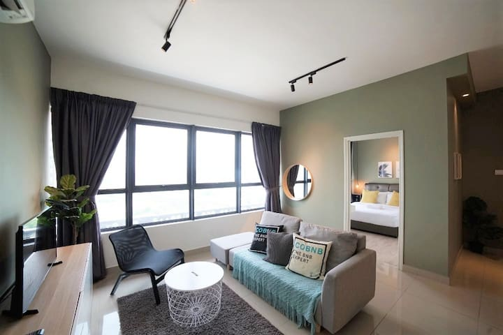 Stunning 2Bedroom in Arte Plus by COBNB