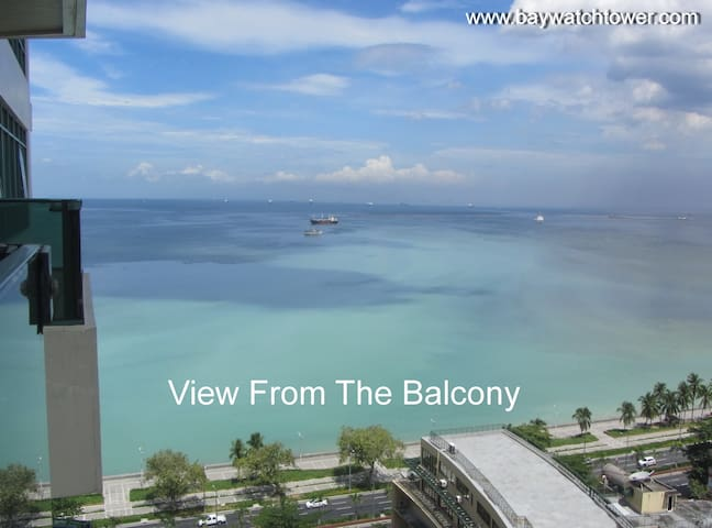 Luxury 1 Bedroom Apartment (50 m2) Overlooking Bay - Manila - Flat