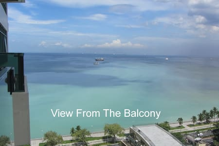 Luxury 1 Bedroom Apartment (50 m2) Overlooking Bay - Manila - Lägenhet