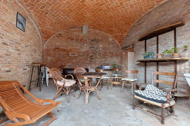 Snug Apartment in Frazione Sessant with Veranda