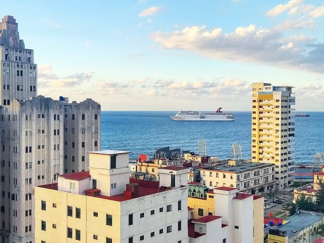 Havana from the Sky + Sea Views