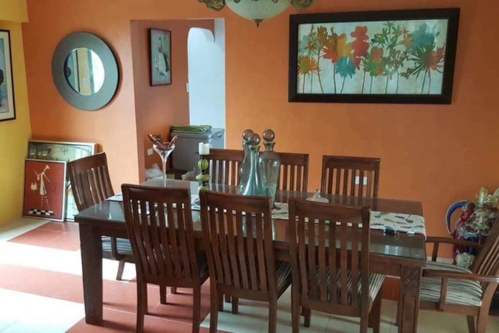 Main dining table