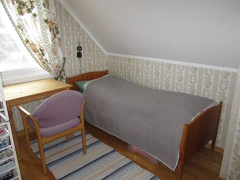 Einzelzimmer zu vermieten im gemütlichen Einfamilienhaus in Røsvik