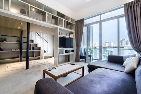 Luxurious 2Bed/2bathrooms+housekeeping - Szingapúr - Lakás