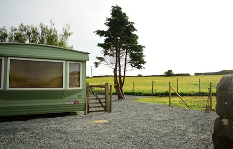 Snowdonia Static Caravan (on a rural working farm)