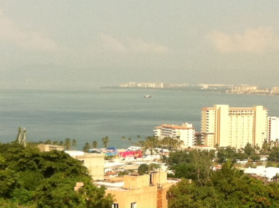 Spectacular view of the Bay of Banderas