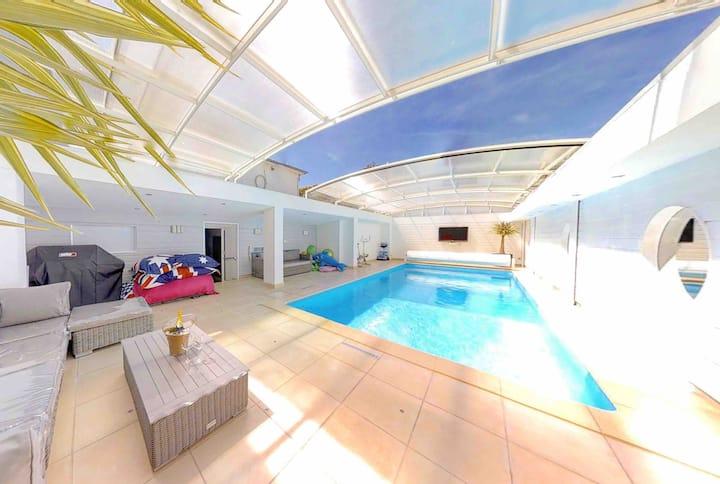 Loft avec piscine ouistreham
