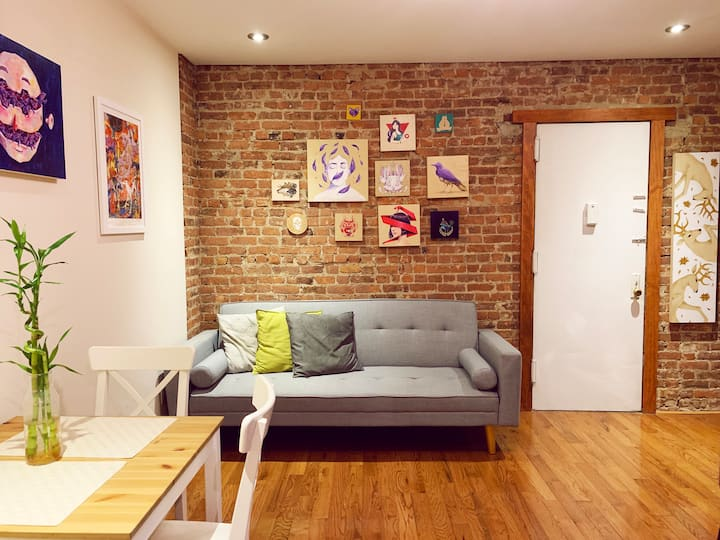 Lovely private bedroom in Manhattan