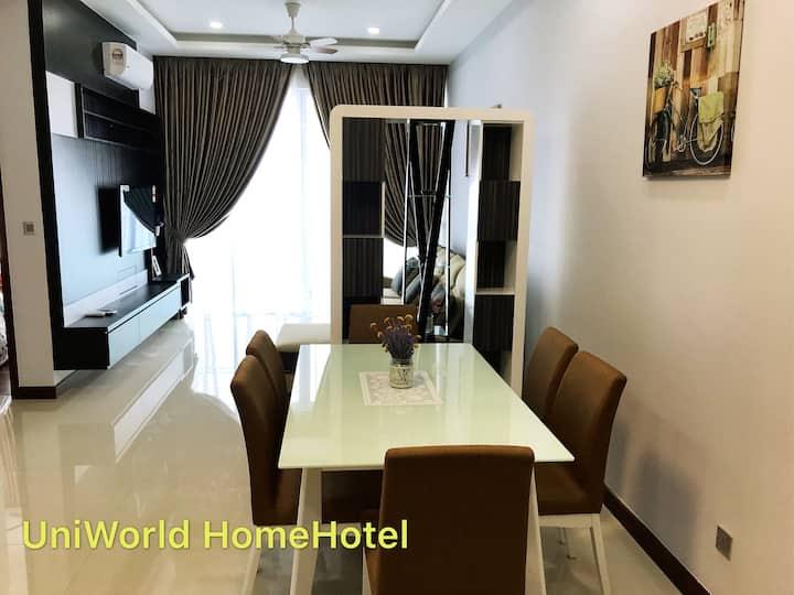 Amazing Seaview Luxury 2 bedroom JB Central 1-6pax