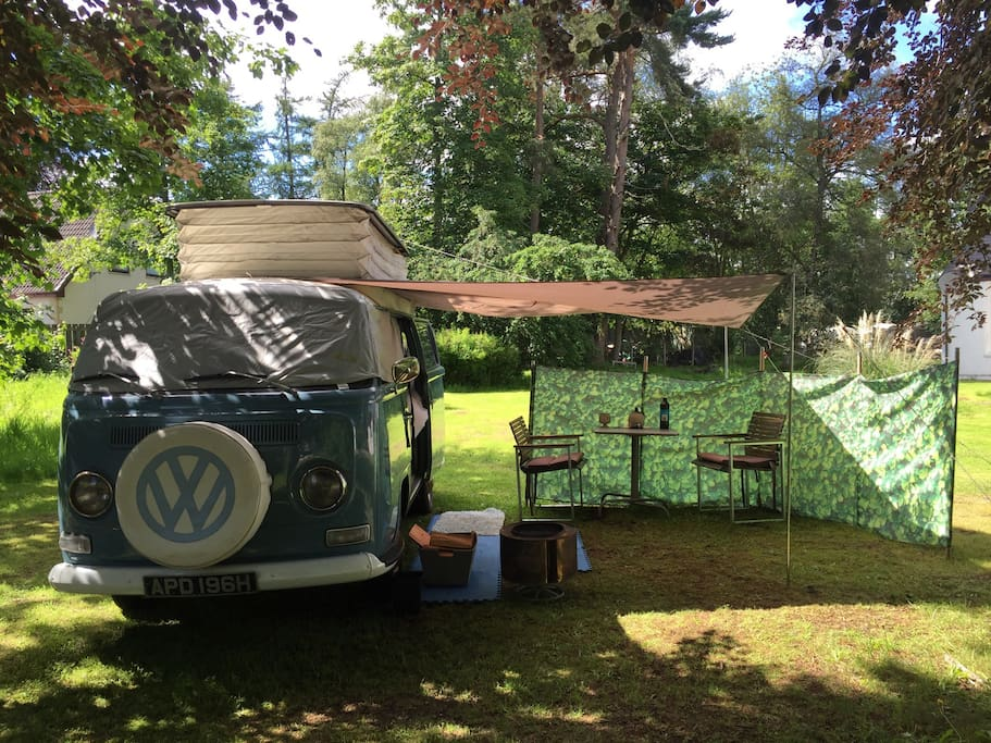 The camper and your space
