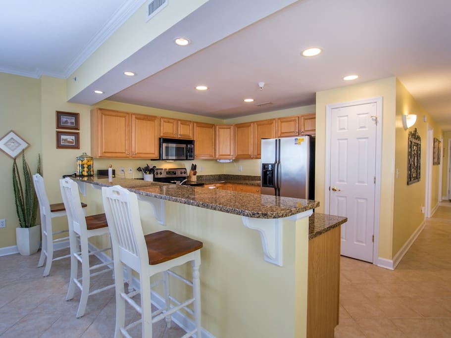 Bahia Vista, I 408 - Kitchen Area