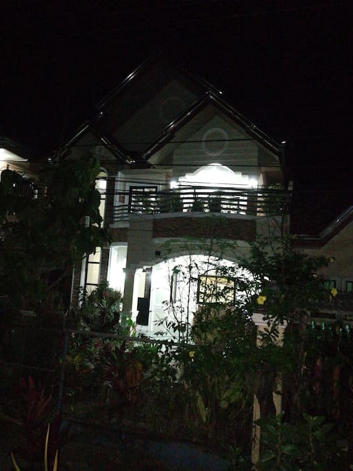 House looks at night
