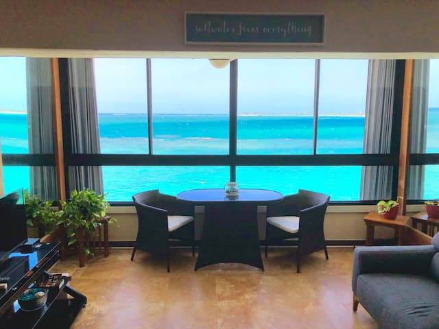 DREAM VIEW BEACH FRONT APARTMENT AT SAN JUAN