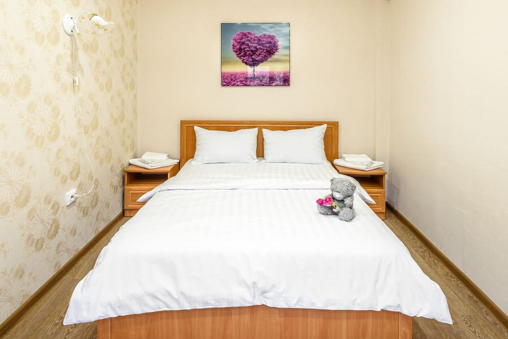 Bedroom, large double bed
