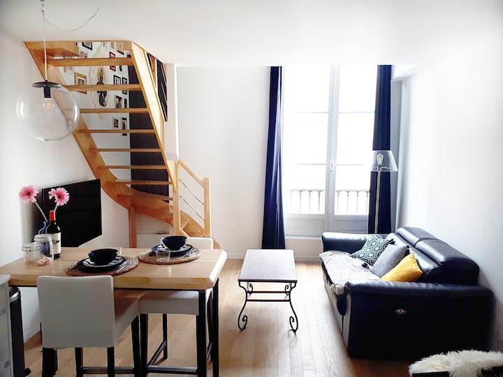 Duplex Haussmanien en plein coeur de Bayonne
