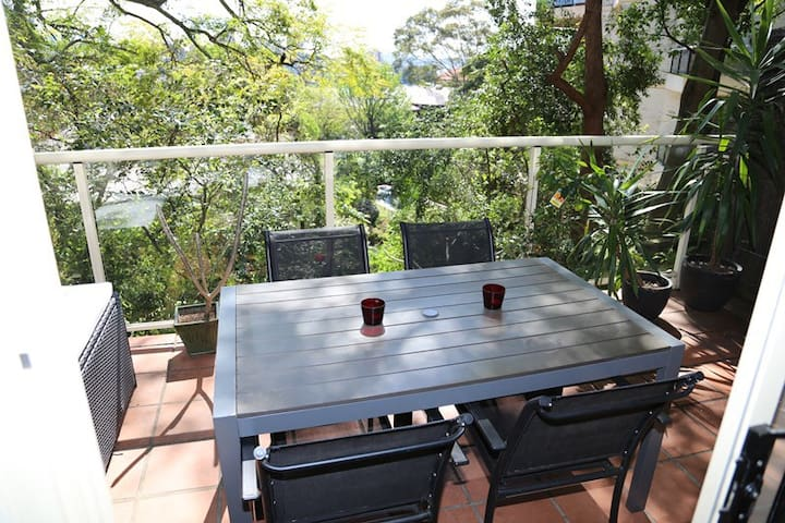Cosy studio +water glimpses+parking - Bellevue Hill - Apartment