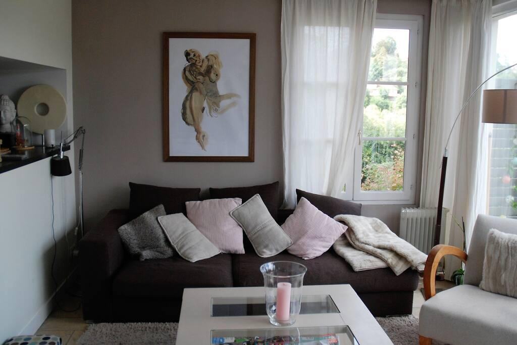 Séjour niveau 1 1st floor living room