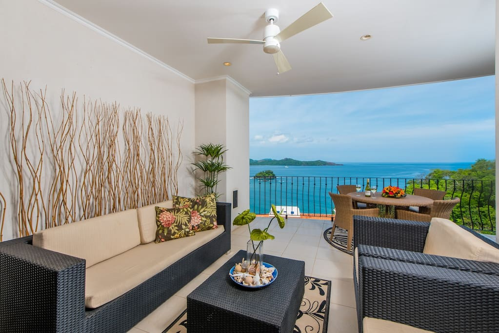 Enjoy the beautiful balcony with an amazing oceanview