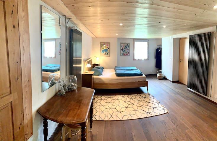 Grande chambre double - rez-de-jardin