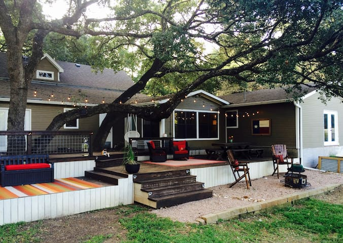 Classic Texas Country Home .48acr Near Lake Austin - Austin - Hus