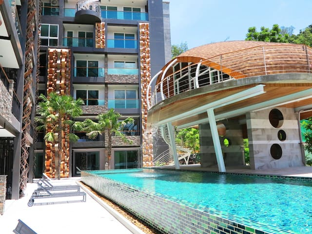 Luxury Sea & City View Apartment in Patong