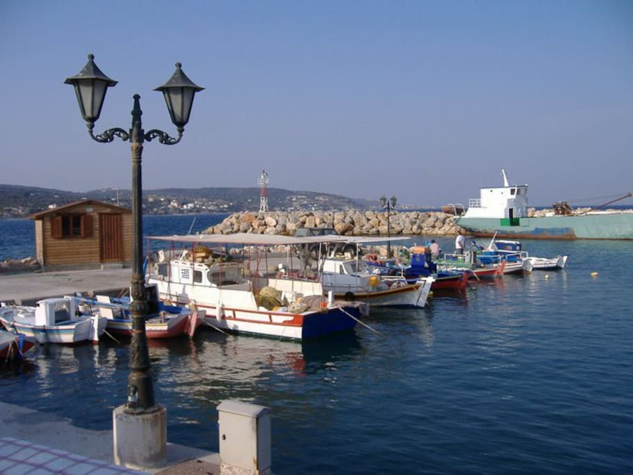 Katarraktis fishing harbour