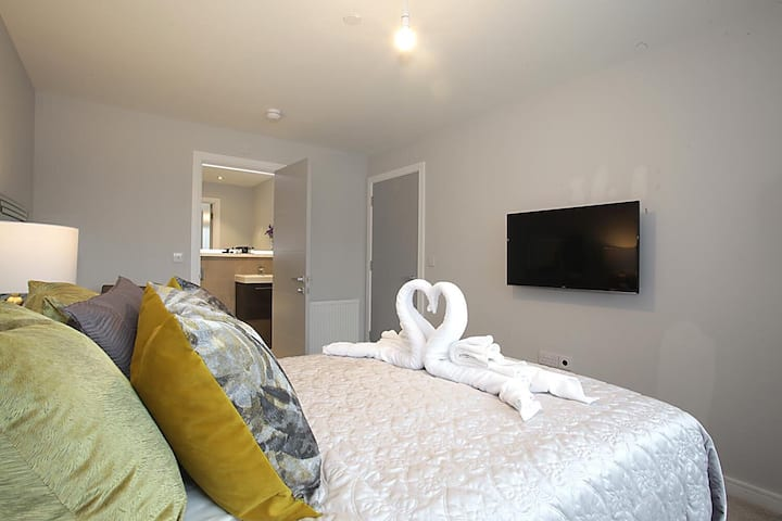 Luxury Two Bedroom Pent House 2 Bathrooms Balcony Apartments For Rent In Luton England United Kingdom